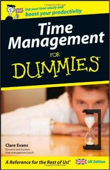 Time management for dummies book to boost your productivity