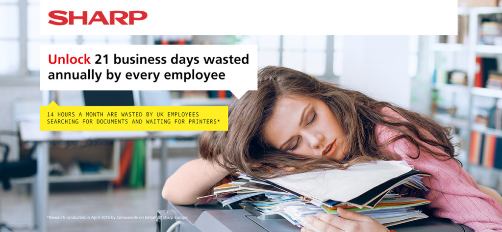 21 days wasted productivity