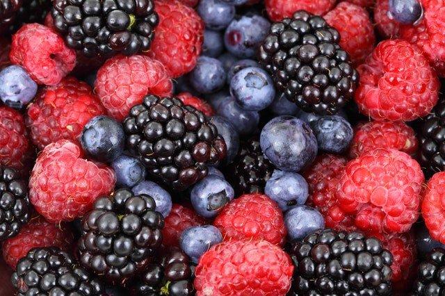 Superblend Me Challenge berries