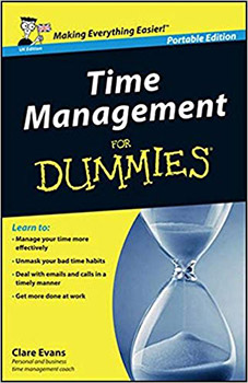 Time Management for Dummies Book